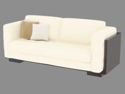 Sofá de cuero moderno