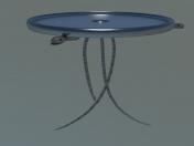 1ex0 स्नेक टेबल लो पॉली