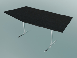 Tavolo T-leg Flip-top a V (1500x750mm)
