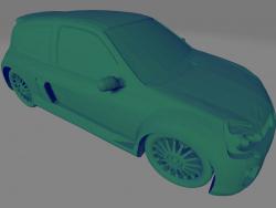 Renault Clio Sport V6 - Printable toy