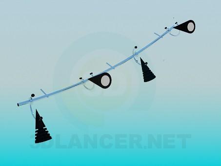 descarga gratuita de 3D modelado modelo Lámparas de cascada