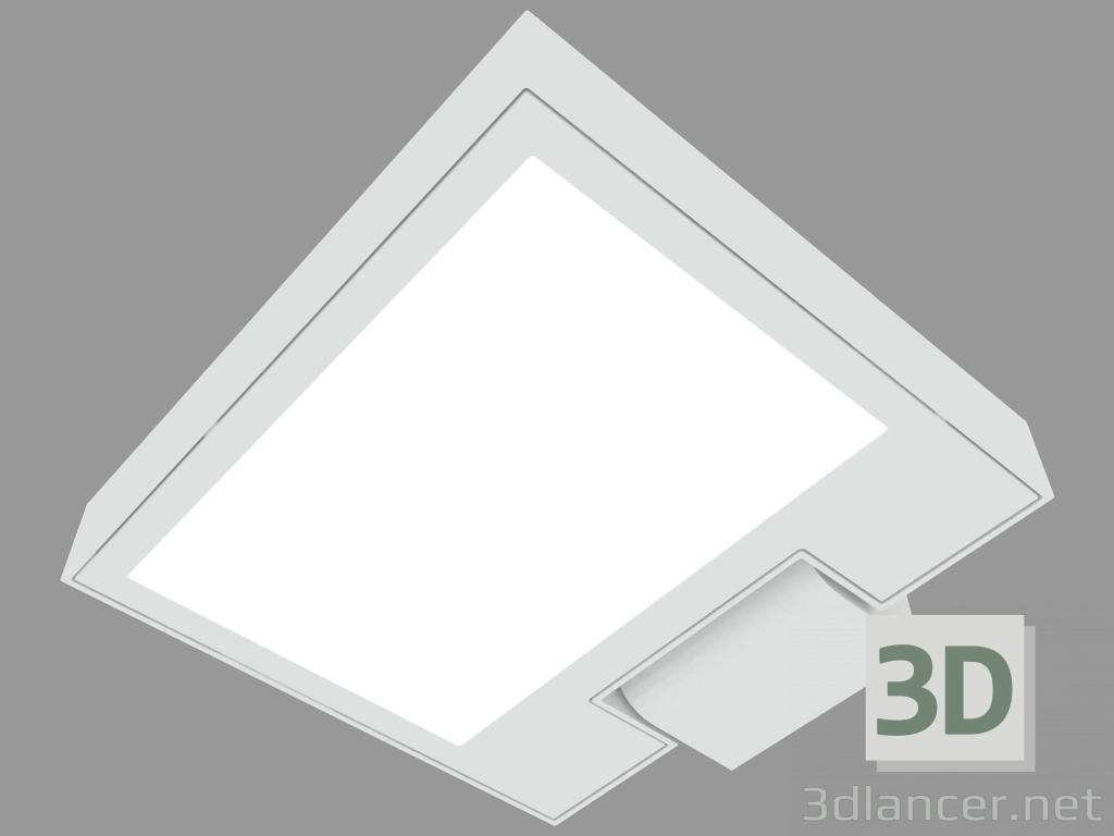 3 डी मॉडल सर्चलाइट MOVIT SQUARE 220mm (S3050N) - पूर्वावलोकन