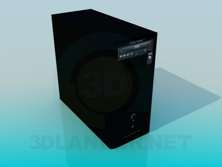 3d моделювання Системний блок модель завантажити безкоштовно