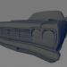 3d Plymouth Roadrunner model buy - render