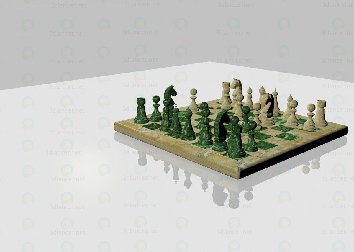 шахи 3d модель купити - рендер