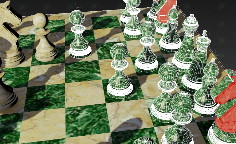 3d Шахи модель купити - зображення