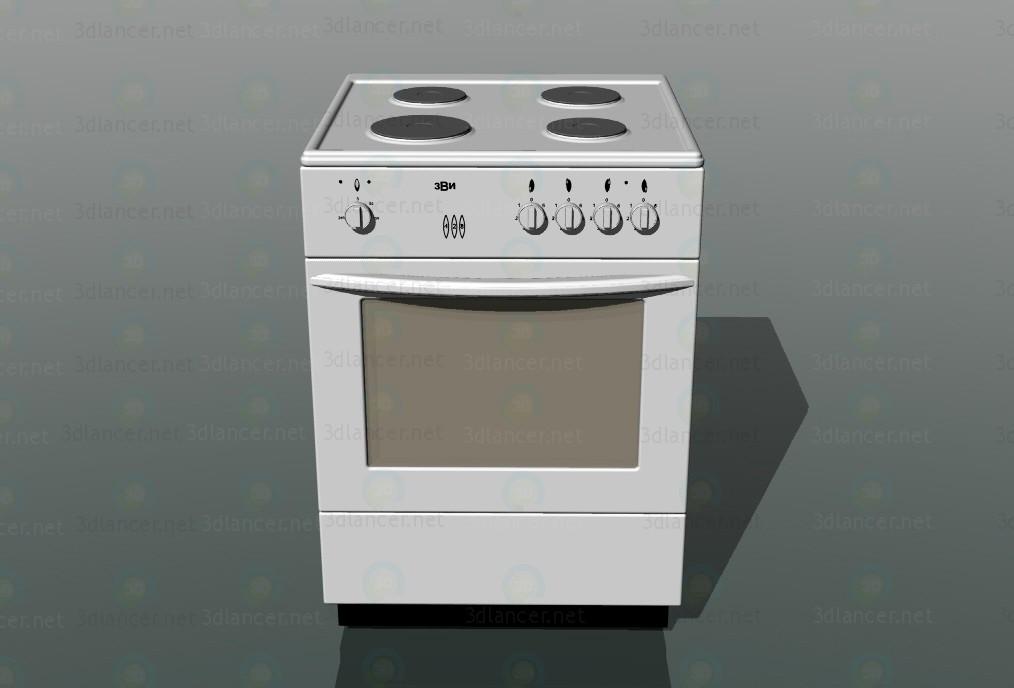 3 डी मॉडल रसोई - पूर्वावलोकन