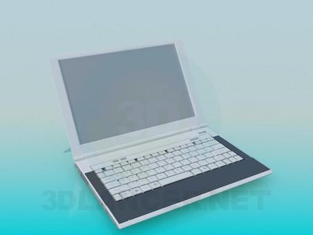 3d модель Ноутбук – превью