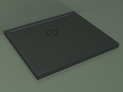 Shower tray Medio (30UM0138, Deep Nocturne C38, 100x90 cm)