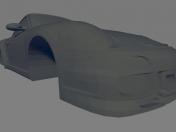 Borsche 997 gt3 - Printable Body