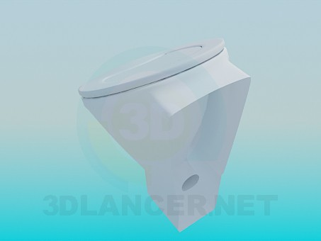 3d model Urinal - preview