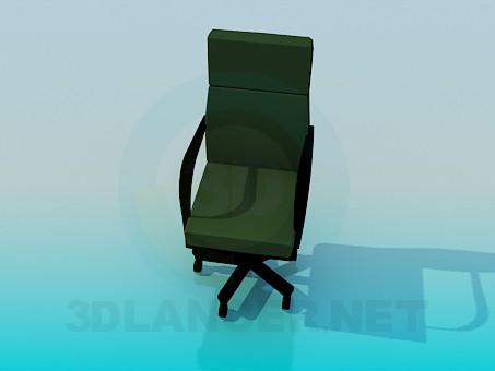 3d модель Стілець-крісло для письмового столу – превью
