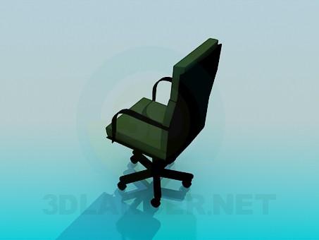 modelo 3D Silla para escritorio - escuchar