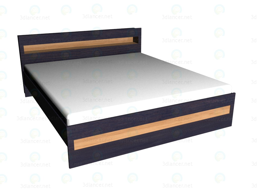 3d model Double bed 180x200 VOX - preview