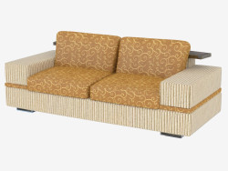 Sofa moderne double