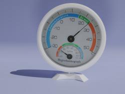 Aräometermodell mit Thermometer
