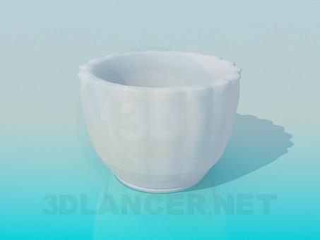3d model Pot vase - preview