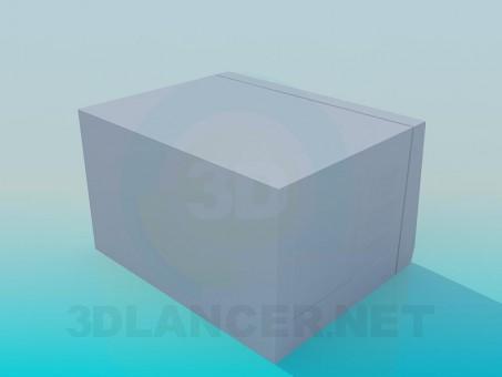 modelo 3D Horno de microondas - escuchar