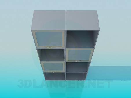 3d modeling Rack model free download