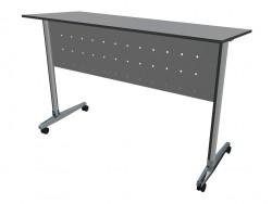Einen Schreibtisch auf Rädern