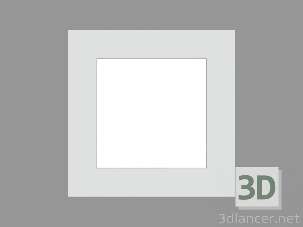 3 डी मॉडल साइडवॉक लैंप ज़िप वर्ग (S7883W LED) - पूर्वावलोकन