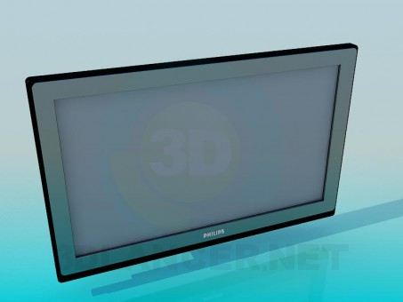 3d modeling TV model free download