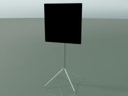 Square table 5747 (H 103.5 - 59x59 cm, folded, Black, LU1)