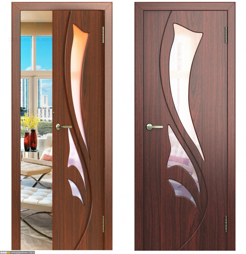 3d model Door-5do2 - preview