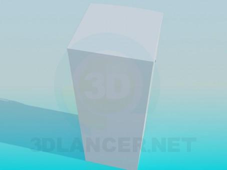 modelo 3D Refrigerador - escuchar