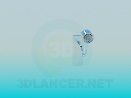 3d модель LED светильник – превью