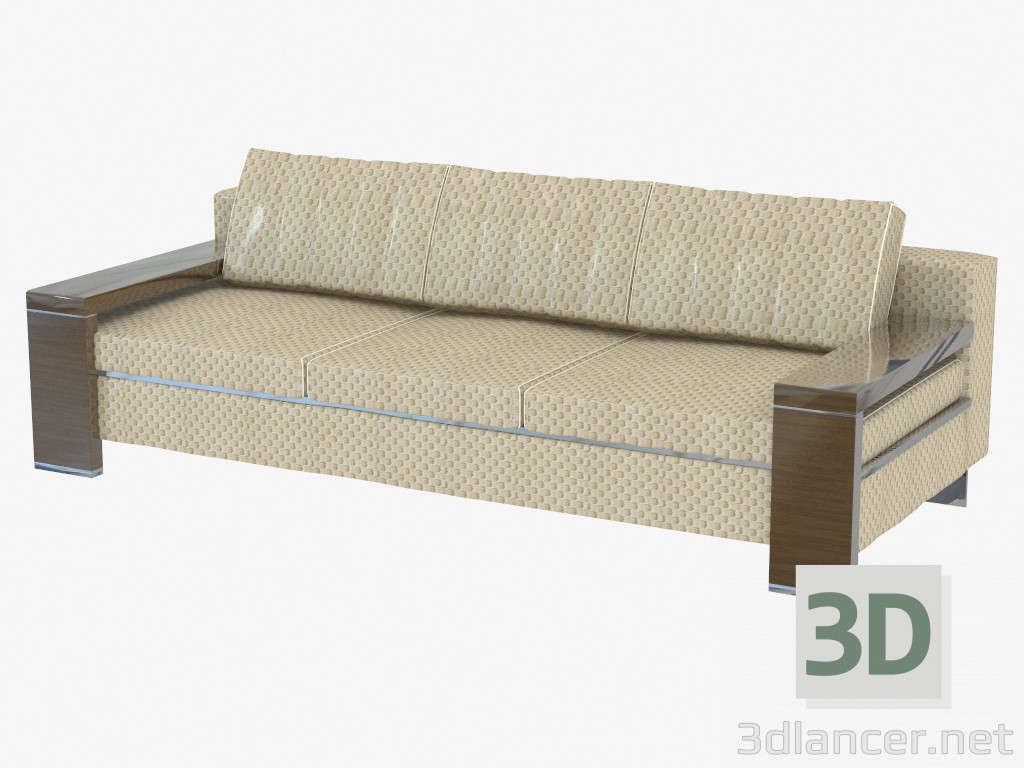 3d model sofa bed double manufacturer turri id 19487 for Sofa bed 3d model