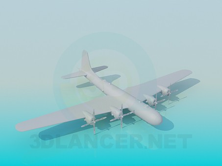 3d modeling Military aircraft model free download