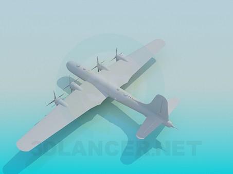 modelo 3D Aviones militares - escuchar
