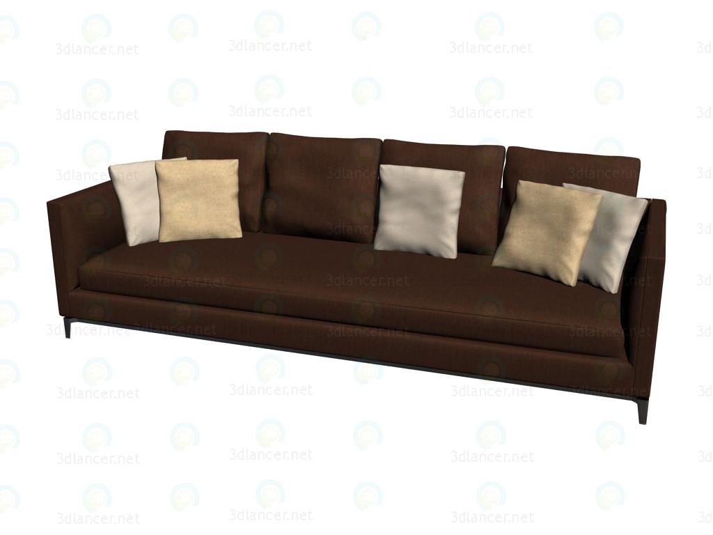 3d model Andersen sofa Slim (288x103x85) - preview