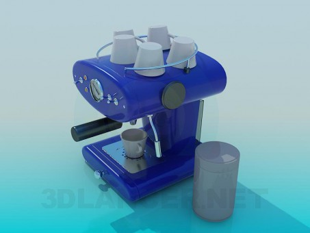 3d model Сoffee machine - preview