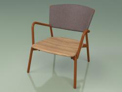 Armchair 027 (Metal Rust, Batyline Brown)