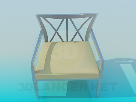 descarga gratuita de 3D modelado modelo Taburete de metal nuevo
