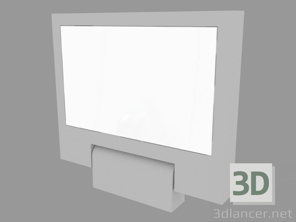 3 डी मॉडल सर्चलाइट MOVIT वर्ग 320 मिमी (S3075N) - पूर्वावलोकन