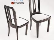 Art Deco Black Lacquer Skyscraper Style Desk or Occasional Chair