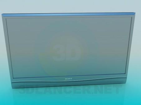 3d model TV - preview