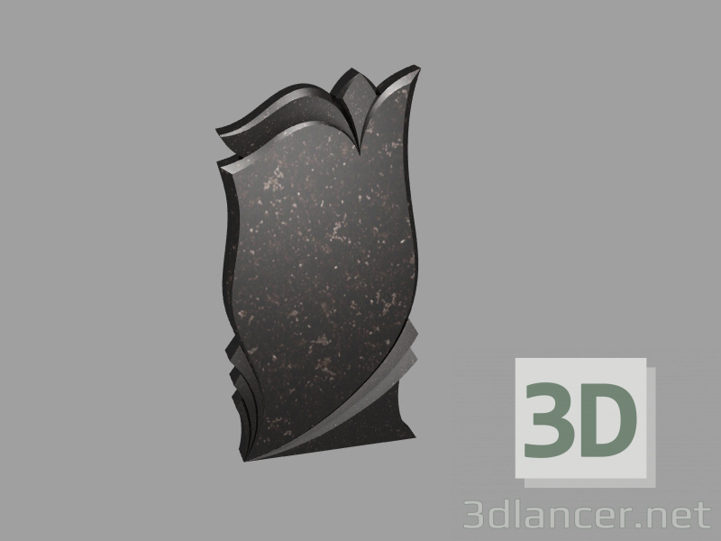 3d model stele 3 - preview