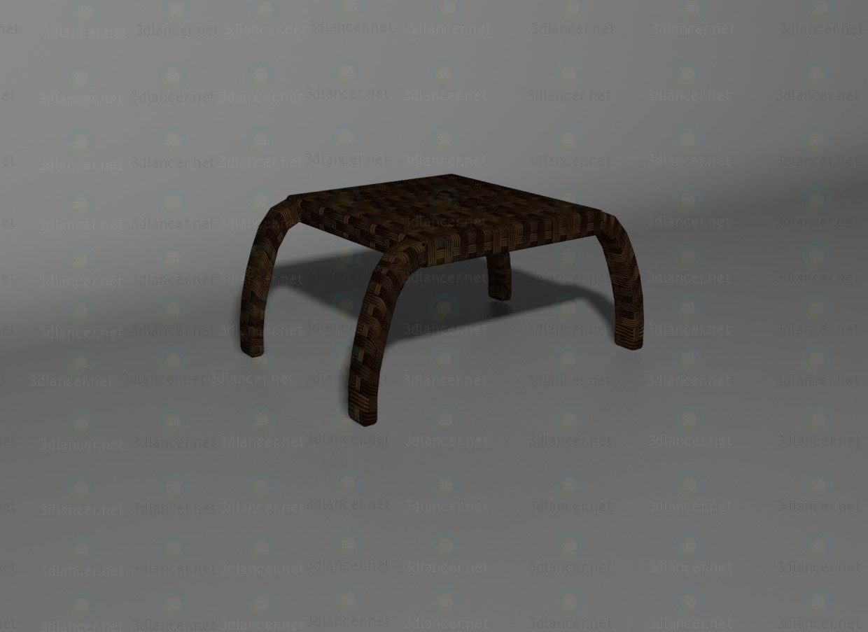 3d model Wave table - preview