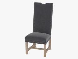 cadeira de jantar Lompret cadeira de veludo (8826.1302)