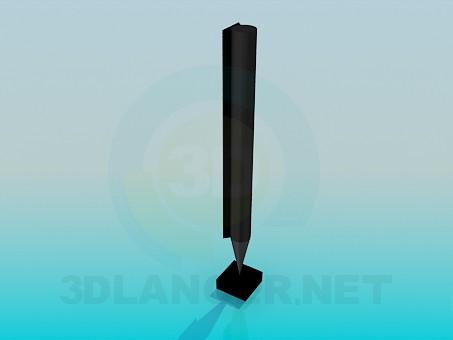 descarga gratuita de 3D modelado modelo Columna