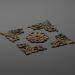 3 डी सजावट ४६ मॉडल खरीद - रेंडर
