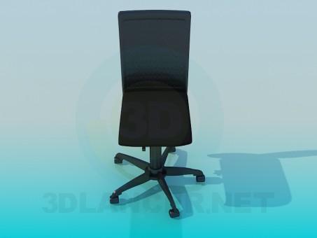 3d модель Cтул офисный – превью