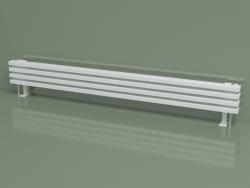 Radiatore orizzontale RETTA (4 sezioni 1800 mm 60x30, bianco lucido)