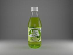 Kleine Softdrinkflasche
