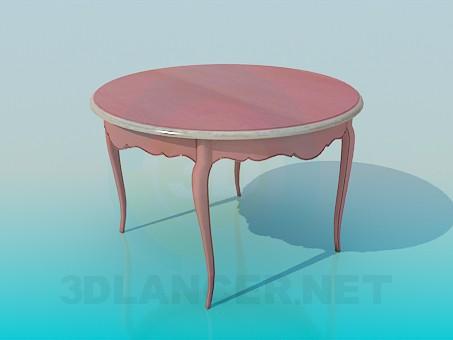 3d модель Круглый столик – превью