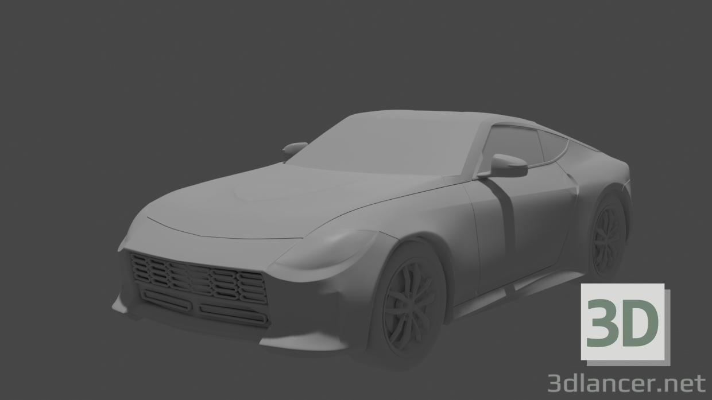 3d Nissan z model buy - render